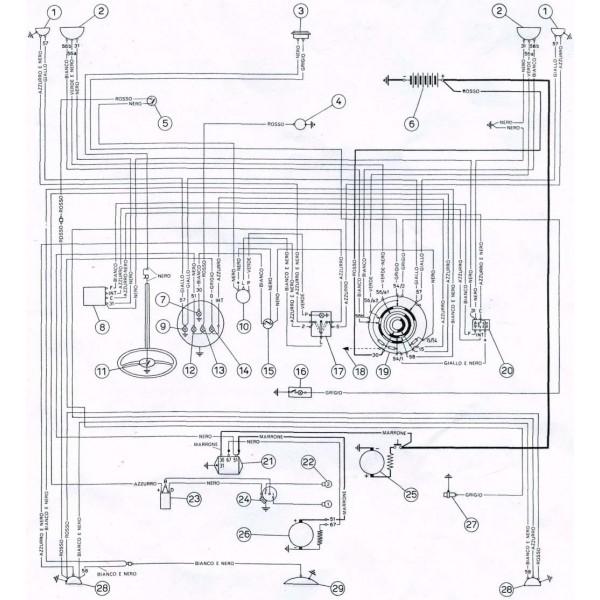 Schema Elettrico Elettrovalvola : Schema elettrico fiat multipla